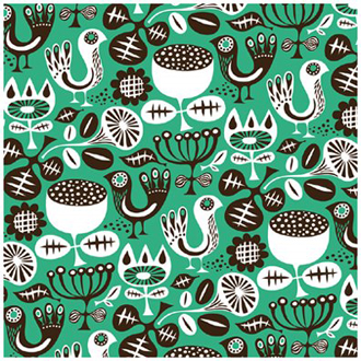 helen dardik - pattern in green