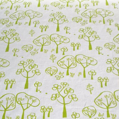 Woodland fabric for Woodlands fabric and interiors