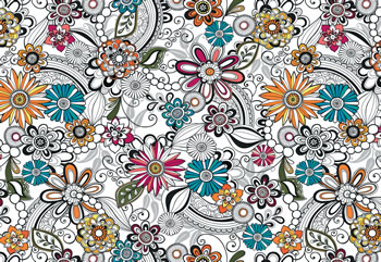 floral pattern in illustrator
