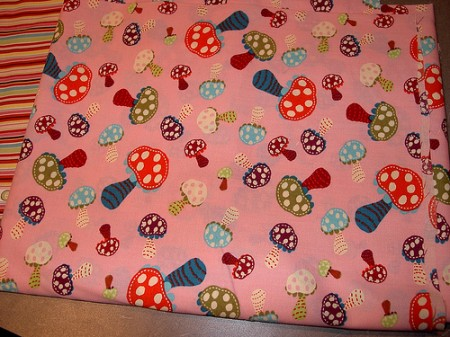 mushroom fabric