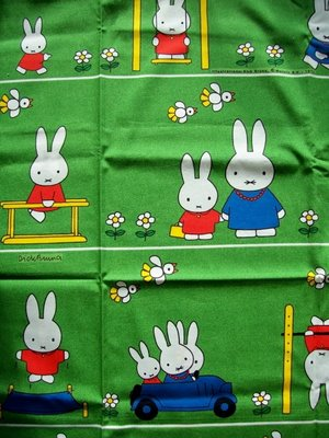 vintage miffy fabric