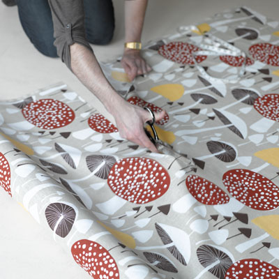 wild mushroom by new house textiles