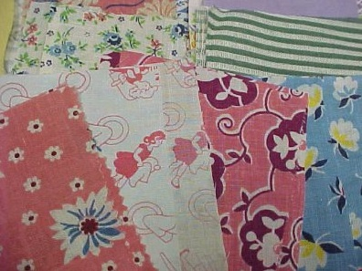 BEST 80 Pieces Vintage Novelty Feedsack Fabric Quilt - eBay (item 370235138626 end time Jul-30-09 15_01_41 PDT)