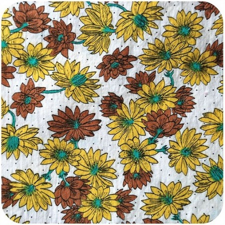 Vintage Stash_ Yellow + Brown Daisies on Flickr - Photo Sharing!