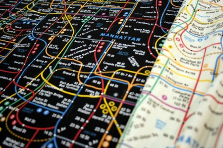 Olde New York Subway Map