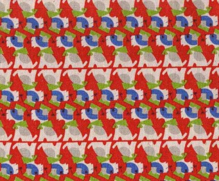 junzo terada dogs fabric