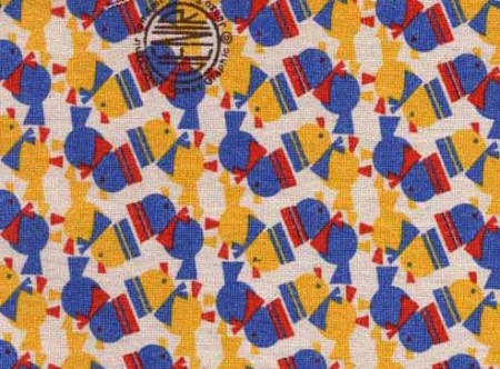 junzo terada chicks fabric