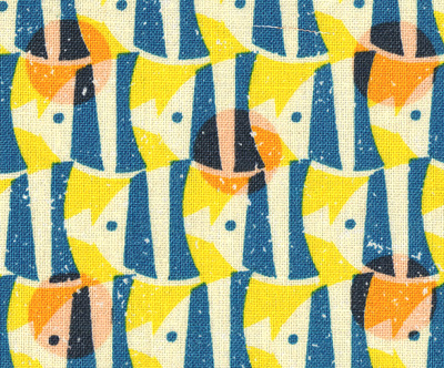 junzo terada fish fabric