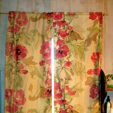 cluttershop - vintage curtains
