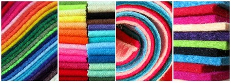 Wool Felt, Wool Blend Felt, Recycled Felt at FELT-O-RAMA