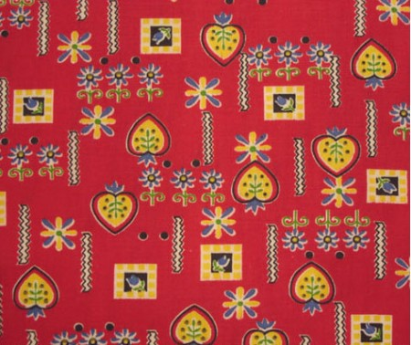 pennsylvania dutch fabric from pindot
