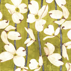 Dogwood Stripe - Olive