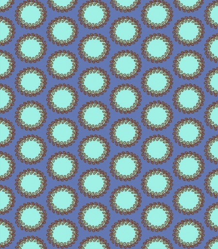 Bliss - Laurel Dots - Periwinkle