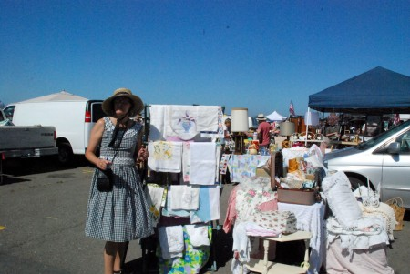 The Lovely Miss Robin, Vendor Extraordinaire
