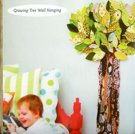 This heirloom-quality Growing Tree Growth Chart is one of the book's selling points!