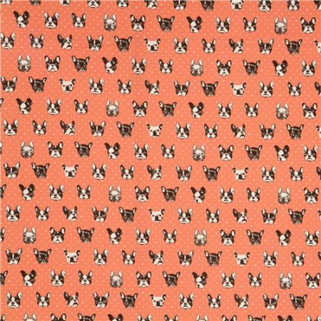 salmon-dog-oxford-fabric-by-Kokka-from-Japan-171970-2
