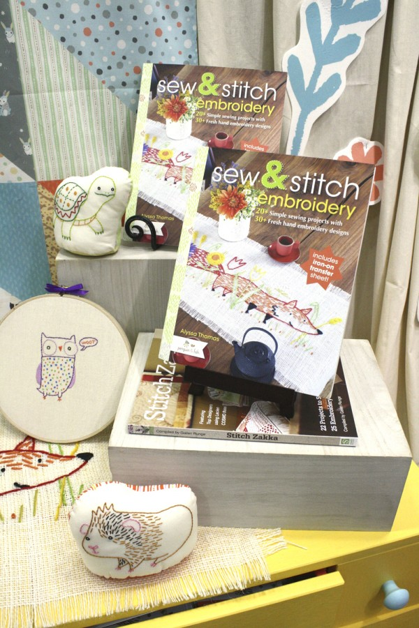 Sew and Stitch Embroidery book