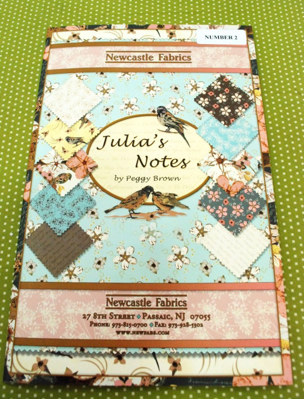 Julia's notes sample cards