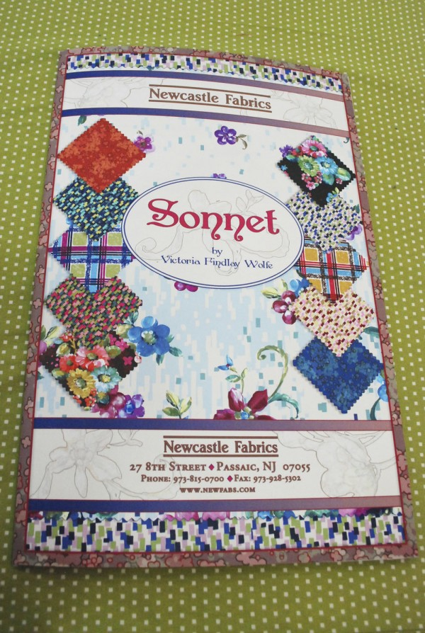 Sonnet sample card