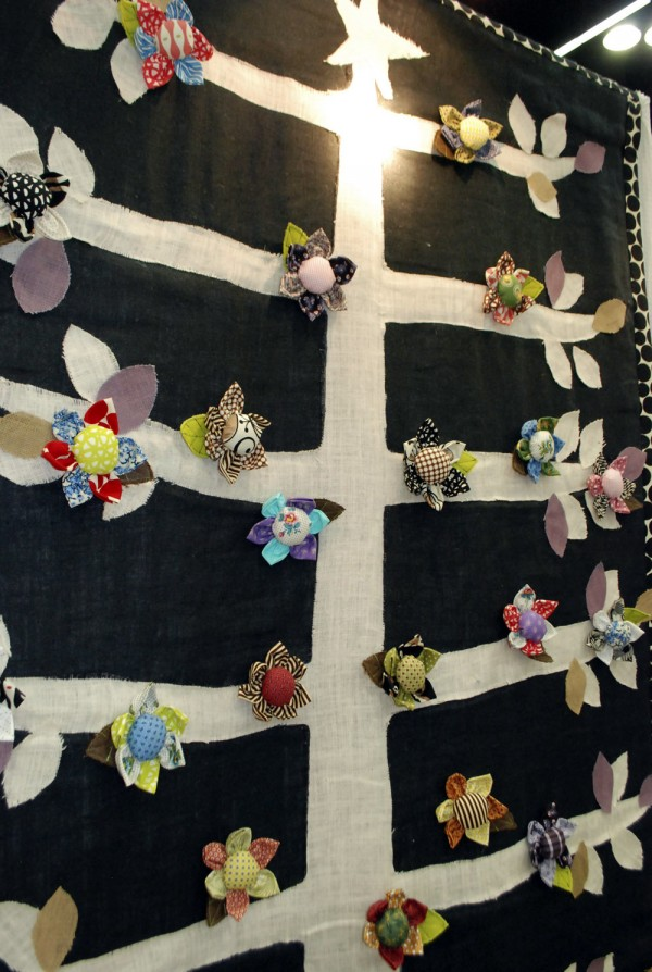 Tree quilt and May Flowers